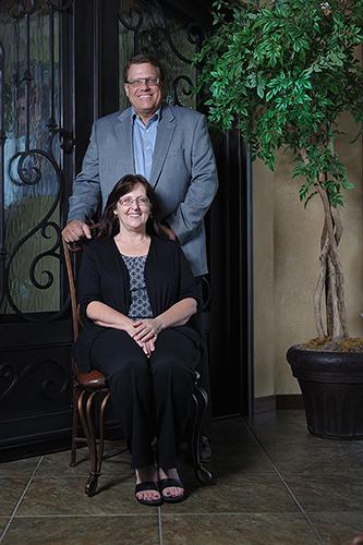 Steve Barron and Debbie Barron bio pic Designer Door & Window