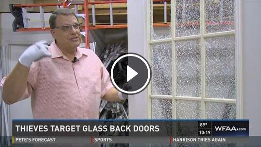 Designer door and window owner steve barron speaks to wfaa channel 8