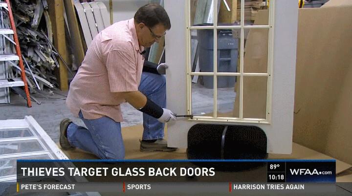 designer door and window owner steve barron tv interview