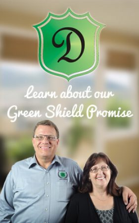DDW green shield promise with pic of steve and debbie barron