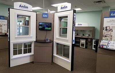 image of the Designer Door & Window showroom in Plano Texas