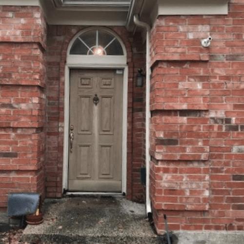 ProVia Heritage Oak Door before