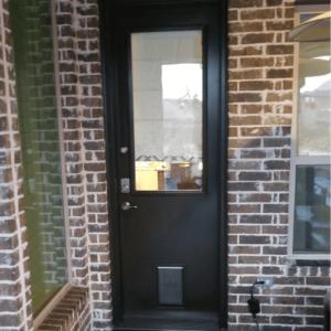 ProVia Legacy Steel with Pet Door after