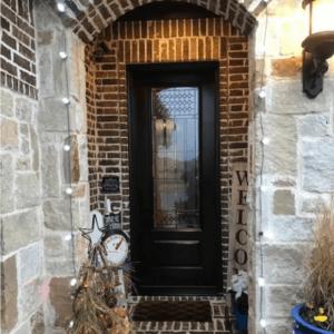 ProVia Signet Door with Carrington Glass after