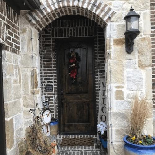 ProVia Signet Door with Carrington Glass before