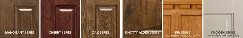 provia signet fiberglass door finishes