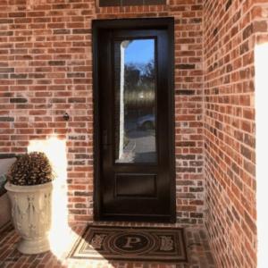 ProVia Singet 8 Foot Fiberglass Door after
