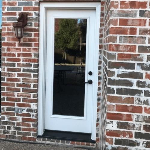 ProVia Singet 8 Foot Fiberglass Door before