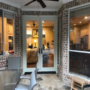 Sierra Pacific Aluminum Clad Wood French Doors after